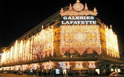 draguer à paris : galeries lafayette