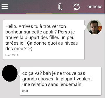 Exemple message site de rencontre
