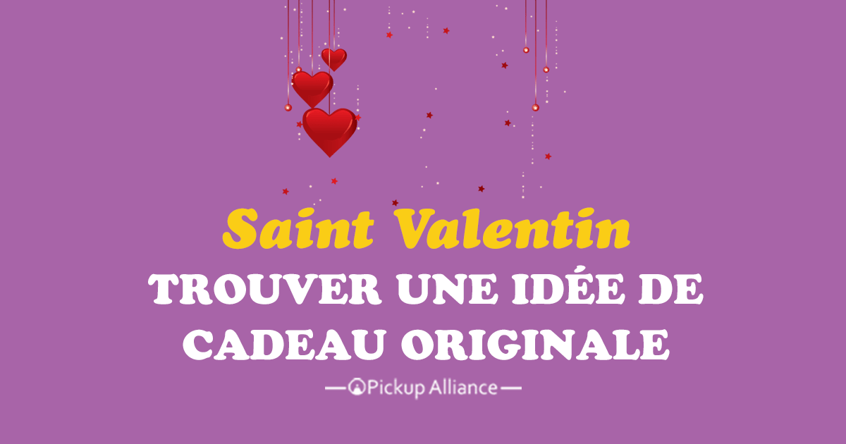 id e de cadeau de saint valentin originale pickup alliance. Black Bedroom Furniture Sets. Home Design Ideas