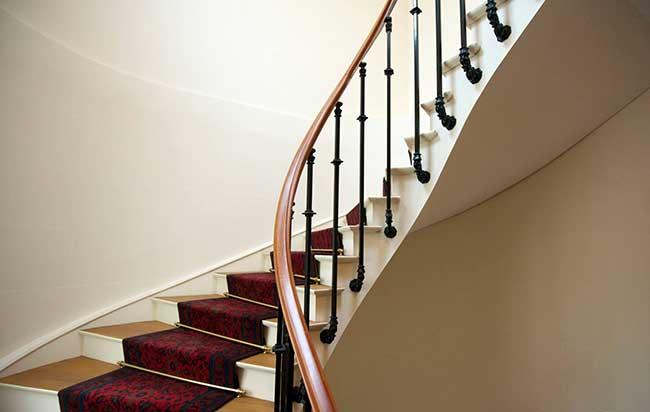 où faire l'amour escalier