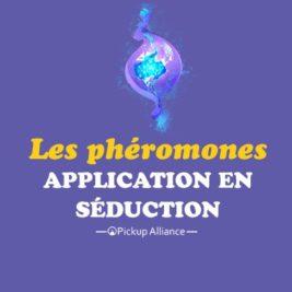 les phéromones en séduction