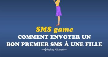 SMS Game : premier SMS à une fille
