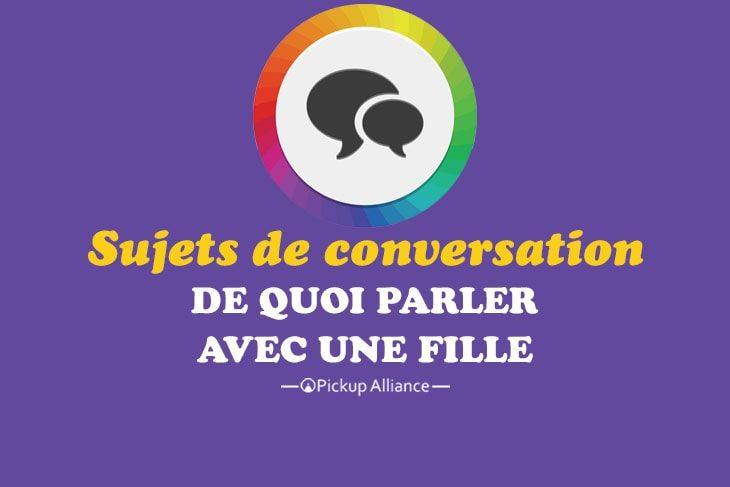 Parler avec une fille en ligne