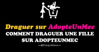 draguer sur adopteunmec