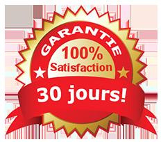 garantie satisfait ou remboursée 30 jours