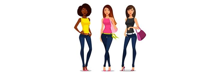 s'adapter aux différents types de femmes