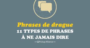 phrase de drague