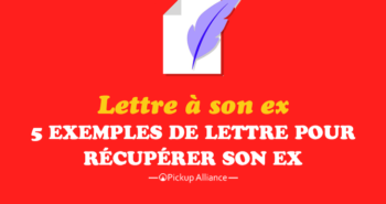 exemple de lettre pour récupérer son ex