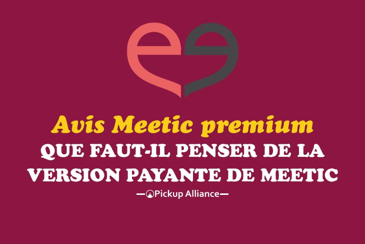 Meetic premium avis